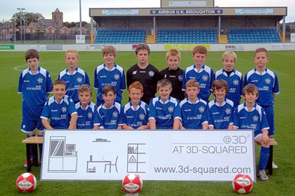 Airbus Academy Under 13's Sponsorship